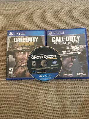 3 ps4 games for Sale in Wichita, KS