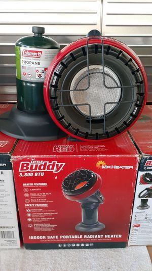 Mr. HEATER Portable Little Buddy Propane Heater $60 each New (Price is Firm) for Sale in Gardena, CA