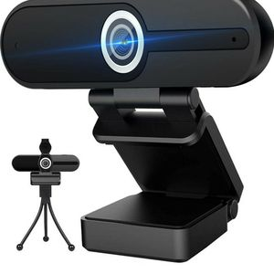 4K Webcam with Microphone Computer Camera 8MP USB Webcam 1080P for Video Calling, Conference, Streaming, Webcam with Privacy Cover and Mini Tripod for Sale in Neenah, WI