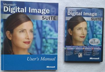 Microsoft Digital Image Suite 9 Windows 98/ME/2000/XP + User's Manual for Sale in Livonia,  MI