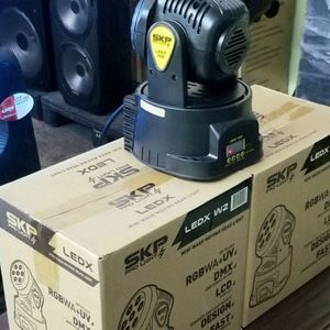 Moving head Light with LCD display. Very compact and light weight. 70 watts. Brand new. It follows the sound of your speaker. for Sale in Miami, FL