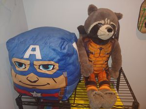 Captain america and fox plush for Sale in San Diego, CA