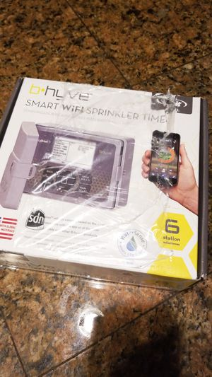 Orbit 57946 B-hyve 6 Station WiFi Sprinkler System Controller 1-3 day Delivery for Sale in Auburn, WA