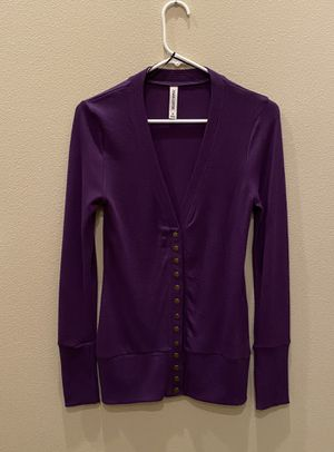 NWOT~ Women's Purple Cardigan, Sz Small for Sale in Everett, WA