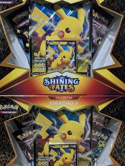 Pokemon Shining Fates Pikachu V Box for Sale in Mableton,  GA