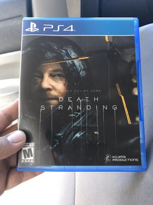 PS4 Death Stranding Sony PlayStation 4 Video Games Video Juego Ps4 pro PS4 slim for Sale in Los Angeles, CA