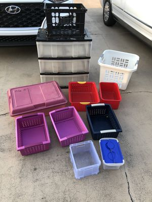 Toy organizing bins for Sale in Cape Coral, FL