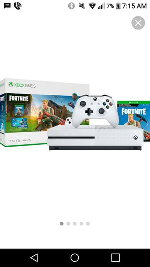Brand NEW Xbox One S FORTNITE Edition for Sale in Fairfax, VA