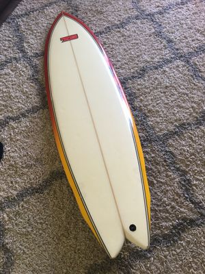 "7S 6'2"" super fish surfboard great shape ready to surf for Sale in Sun City, AZ"