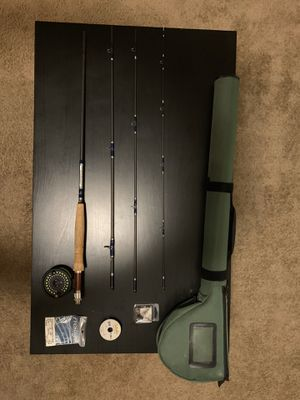 Fly-fishing Rod Set 9ft, 6wt, 4pc Graphite for Sale in Scottsdale, AZ