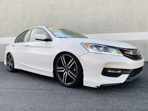 2016 HONDA ACCORD SPORT SEDAN / BACKUP CAMERA / PREMIUM WHEELS / LEATHER / FOG LIGHTS / TINT / LIKE NEW IN AND OUT / RUNS EXCELLENT / EZ FINANCING 4 for Sale in Chino, CA
