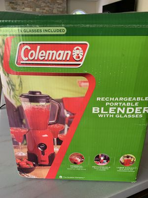 Brand new Coleman blender with glasses for Sale in Mission Viejo, CA