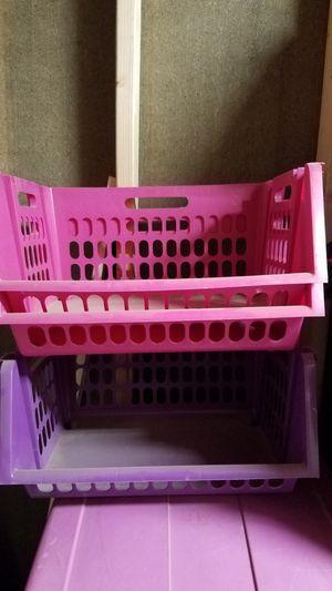 3pc storage baskets for Sale in Visalia, CA