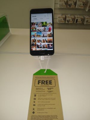 Samsung galaxy Amp Prime 3 @ Cricket in Pace for Sale in Pace, FL