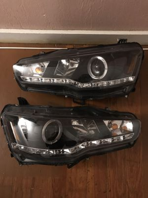 08-12 Mitsubishi Lancer GTS ES Halo projector headlight for Sale in Chelsea, MA