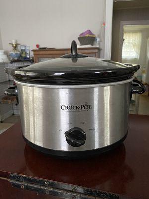 Crock Pot - large 8qt capacity. $30 for Sale in Durham, NC