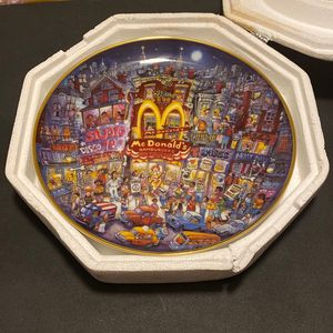 Franklin Mint Golden Summer McDonald's Plate for Sale in Haines City, FL