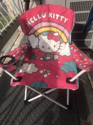 Kids chair hello kitty for Sale in Edison, NJ