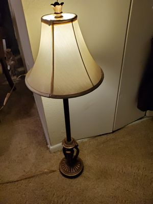Bronze lamp for Sale in Norfolk, VA