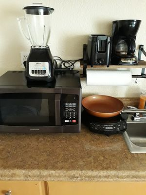 Misc Kitchen Cooking appliances and wall mounted self for Sale in Carol City, FL
