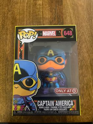 Captain America - Black Light 648 - Funko POP for Sale in Encinitas, CA