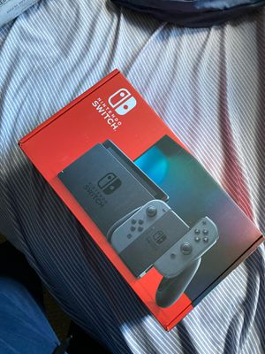 NEW Nintendo Switch (GRAY) NEWEST MODEL for Sale in Fairfax, VA