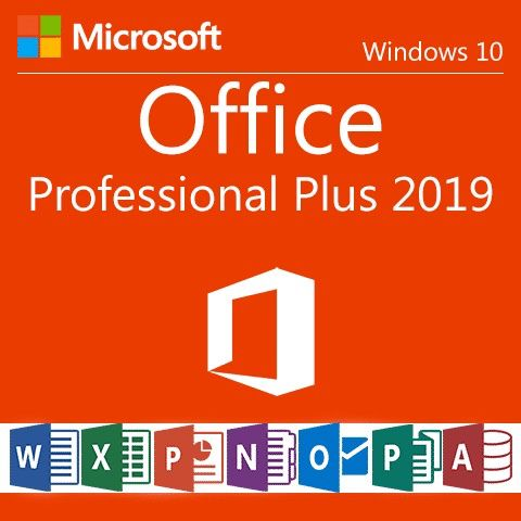 2019 Microsoft Office Pro Plus
