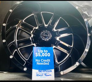 22x12 Wheels and tires for Sale in Phoenix, AZ