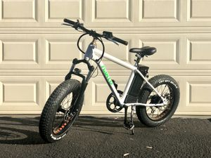 "Nakto electric bike 300W fat tire bicycle 20"" ebike for Sale in Industry, CA"