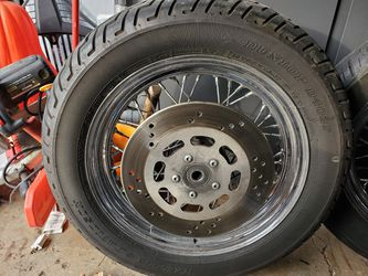 Stock Harley Rims Softail W/tires for Sale in Lombard,  IL