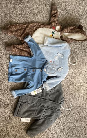 BRAND NEW 3-6 mos Infant Boy Carters and Old Navy Clothes for Sale in Costa Mesa, CA