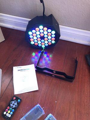 36 led party light stage light DJ light for Sale in La Verne, CA