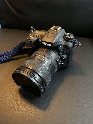 Nikon D7100 DSLR Camera with 18-200mm f/3.5-5.6 AF-S VR II DX Zoom Lens for Sale in Monterey Park, CA
