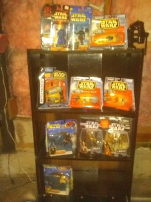 Star wars collection action figures, for Sale in Denver, CO