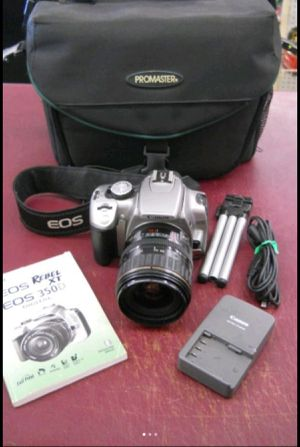CANON DSLR DIGITAL SLR CAMERA EOS with 28-80mm LENS for Sale in Columbus, OH