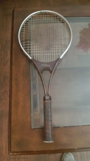 2 Wilson tennis racket and a Dunlop racket bag for Sale in Austin, TX