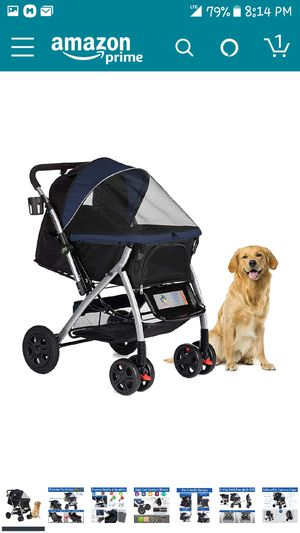 HPZ Pet Rover Premium Heavy Duty Dog/Cat/Pet Stroller Travel Carriage for Sale in Los Angeles, CA