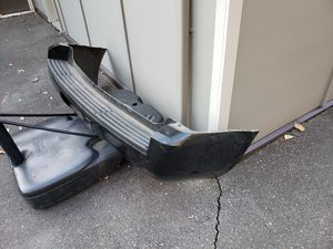 Tahoe rear bumper cover, absorber , and rear bumper bracket for Sale in Tacoma, WA