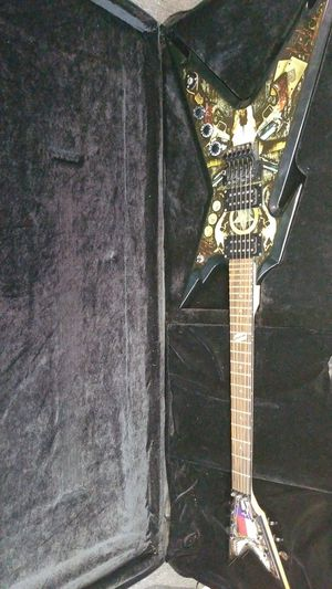 Dean razorback dime cowboys from hell guitar for Sale in Chesapeake, VA