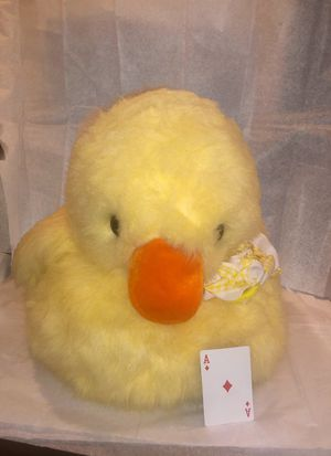 Giant Stuffed Ducky - goes great with flowers for Her birthday. for Sale in Las Vegas, NV