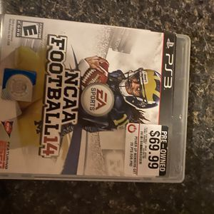 NCAA Football 14 PS3 for Sale in Gastonia, NC