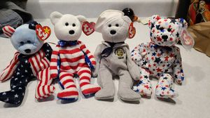 Lot of American Bear Beanie Babies for Sale in Pingree Grove, IL