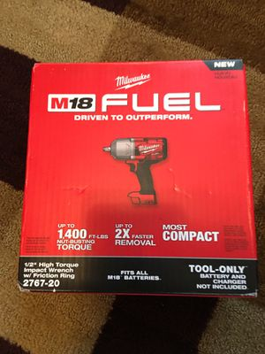 Milwaukee M18 FUEL 1/2 wrench for Sale in Nashville, TN