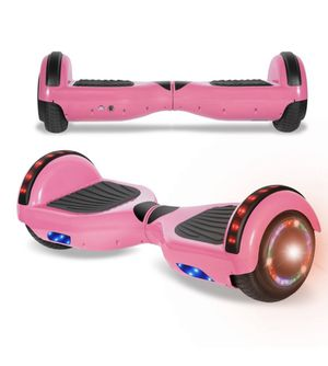 NEW PINK BLUETOOTH SELF BALANCING HOVERBOARD LEDS MUSIC LIGHTS for Sale in Ypsilanti, MI