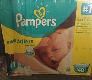 Pampers swaddlers size 1 for Sale in Lemon Grove, CA
