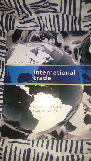 International Trade Textbook for Sale in Glendora, CA
