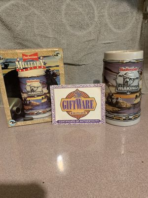 Vintage USMC Budweiser Military Series Stein for Sale in Albany, NY