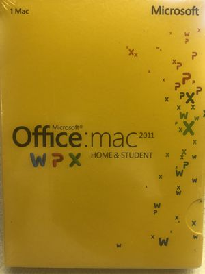 Microsoft Office Mac 2011 WPX Home & Student $90 for Sale in Paramount, CA