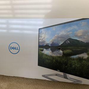 "Dell 32"" Monitor (HDMI And VGA) for Sale in Portland, OR"