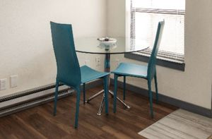 Turquoise leather chairs for Sale in Seattle, WA
